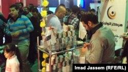 رواق في معرض بغداد الدولي بدورته السابقة