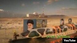 صحنه ای از فیلم تبلیغاتی اسرائیلی برای تابلت سامسونگ