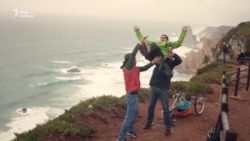 Хлопець із ДЦП подолав 5 тисяч кілометрів у Європі (відео)