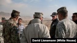 U.S. President Joe Biden in Afghanistan. (file photo)