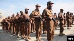 Припадници на авганистанската локална полиција
