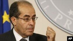 Заменик шефот на либискиот Национален совет, Махмуд Џибрил.