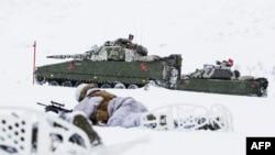 Norveçdə hərbi təlimlər