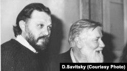 И.Померанцев и А.Синявский (Швейцария,1987)