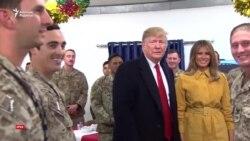 Трамптың Иракқа тұңғыш сапары