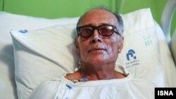 عباس کیارستمی در بیمارستان جم.