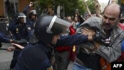 Протести во Шпанија.