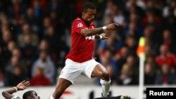 Lojtari i Manchester United në aksion - foto arkivi