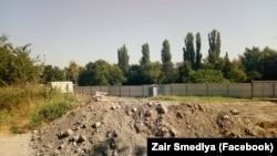 XV-XVI asırnıñ qırımtatar abidesi «Qalğa sultan» sarayı yerleşken topraq, Aqmescit
