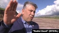 """Ҳукмиддин Сафаров, муовини раиси ҷамоати """"Ҷавонон""""."""