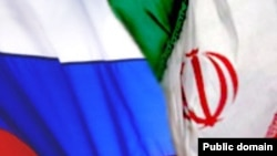 რუსეთისა და ირანის დროშები