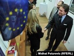 Otvaranje nove Kancelarije Savjeta Evrope, novembar 2011.