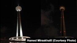 ساعت زمین در تهران سال ۱۳۹۱ - عکس: حامد میرزا خلیل، سبز پرس