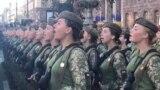ukraine female soldier