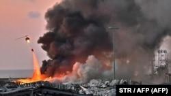 O cantitate de 2.700 de tone de nitrat de amoniu a stat în spatele exploziei devastatoare din portul din Beirut