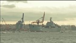 Ruski brodovi na prolasku kroz Bosfor