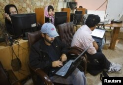 Tehranda İnternet kafe