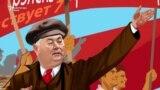 Vladimir Voronin se pregătește de centenarul revoluției din 1917 (video satiric din 2017).