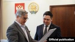 Васил Шәйхразиев һәм Азат Бадранов.