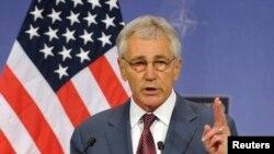 Sekretari amerikan i Mbrojtjes, Chuck Hagel.