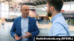 Заместитель генерального директора международного аэропорта «Борисполь» Евгений Дыхне