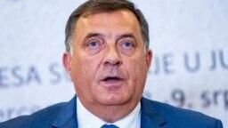 Milorad Dodik, član Predsjedništva BiH na samitu južnoslovenskih zemalja na Jahorini pored Sarajeva, 9. juli, 2019.
