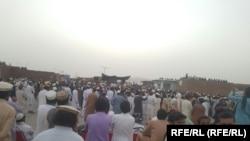په وزیرستان کې د هدفي وژنو پرضد مظاهره.