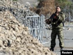 Kosovo, Jarinje, barikade