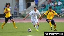 Tajikistan -- Tajik football players