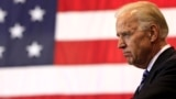 Vice President Joe Biden pauses as he speaks at M-7 Technologies, Wednesday, May 16, 2012, in Youngstown, Ohio.