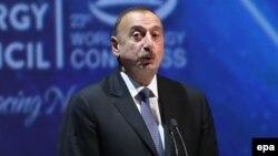 Президент Азербайджана Ильхам Алиев (архив)
