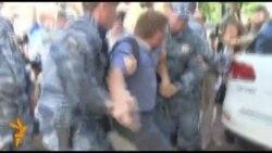 Мітинг на підтримку Олексія Навального у Кірові