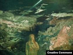 Лев Бакст. Древний ужас, 1908