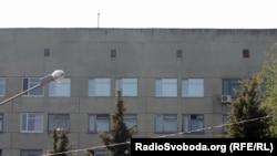 Заґратовані вікна блоку лікарні в Харкові, де перебуває Юлія Тимошенко, архівне фото