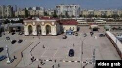 Вокзал Евпатории, 3 мая 2017 года