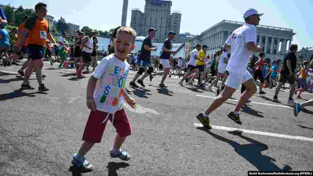 Бігти – це весело і корисно для здоров'я