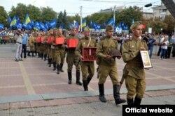 Cвяткування Дня звільнення Луганської області від фашистських загарбників, 3 вересня 2013 року (фото прес-служби Луганської міської ради)