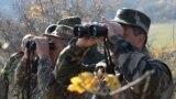 ՀՀ ԶՈՒ սպաները Սյունիքի՝ Ադրբեջանին սահմանամերձ հատվածներից մեկում, արխիվ