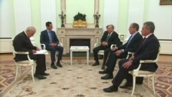 Башар Асад провел в Москве переговоры с Владимиром Путиным