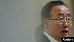 Генералниот секретар на ОН Бан Ки Мун.