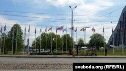 """В Риге развеваются флаги стран-участниц саммита """"Восточного партнёрства"""""""