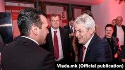 Зоран Заев и Али Ахмети