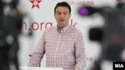 Горан Сугарески, член на раководството на СДСМ и министер за транспорт и врски