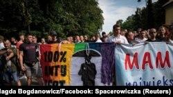Demonstracije protivnika LGBT populacije u poljskom gradu Bjalistoku