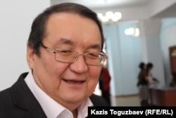 """Гарифолла Анес, председатель общества """"Адилет"""". Алматы, 24 декабря 2014 года."""