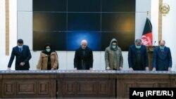 اعضای کمیسیون مبارزه با فساد اداری در ارگ ریاست جمهوری حلف وفاداری یاد کردند