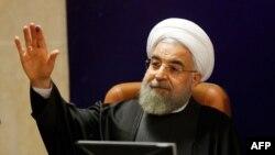 Eýranyň prezidenti Hassan Rohani, Tähran, 21-nji dekabr, 2015