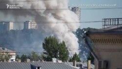 Explozii la Moscova după incendiul la un depozit de artificii