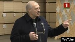 Președintele belarus Aliaksandr Lukașenka