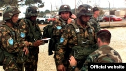 FILE: Uzbek soldiers taking part in a military exercise